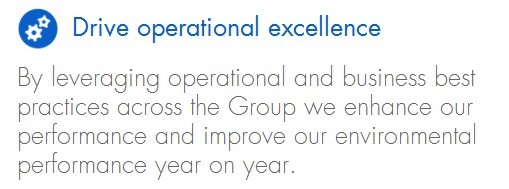 Drive operational excellence