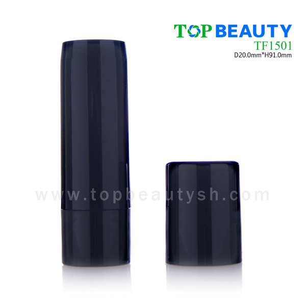 Plastic round empty foundation container (TF1501)