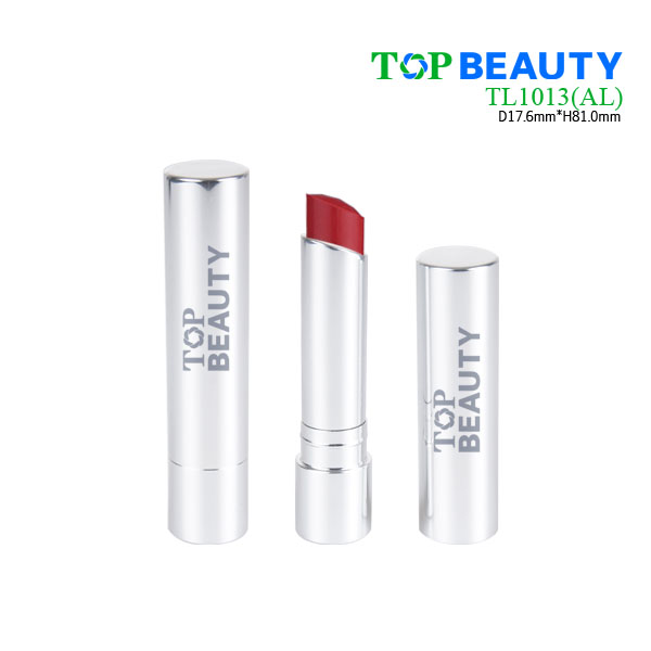 Cylinder aluminum lipstick case tube container  TL1013