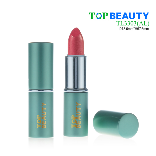 Cylinder aluminum lipstick case tube container packaging(TL3303)