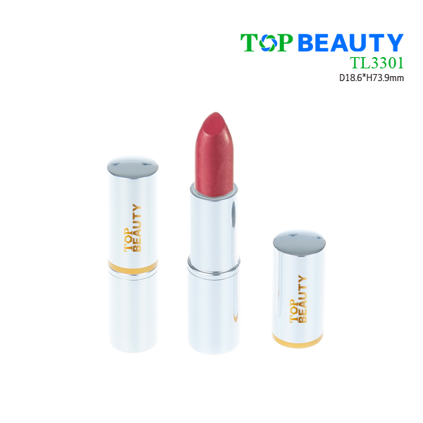 Cylinder aluminum lip stick tube packaging container (TL3301)