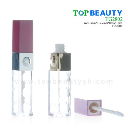 Plastic Square Lip Gloss Tube(TG2802)
