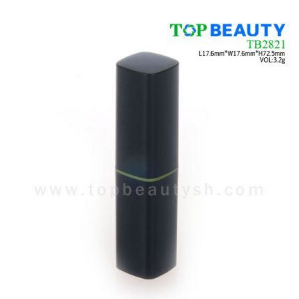Cylinder plastic  lip balm container (TB2821)