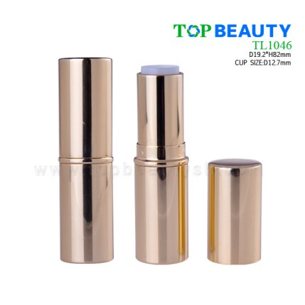 Round metal lipstick container TL1046