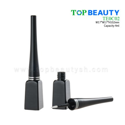 Eyeliner container with square bottle TE0C02