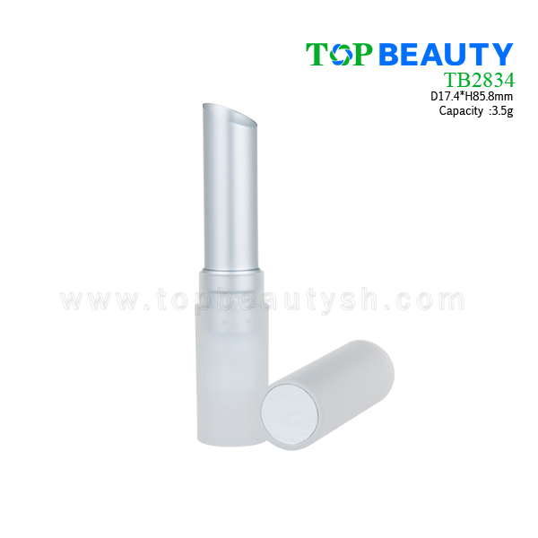 Cylinder Plastic Lip Balm Container  (TB2834)