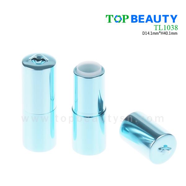 Round aluminum mini lipstick tube (TL1038)