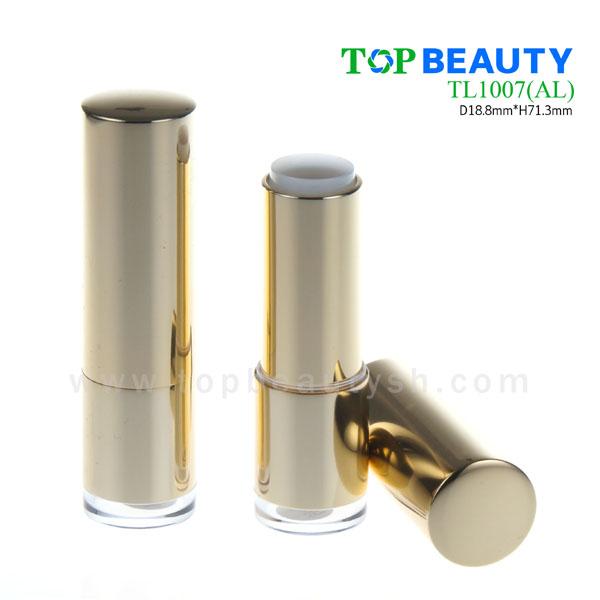 Cylinder aluminum lipstick tube (TL1007)