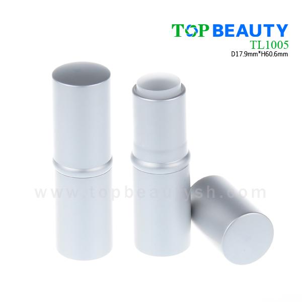 Cylinder round aluminum lipstick tube (TL1005)