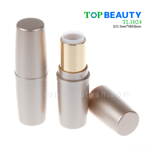 Spindle cone plastic lipstick tube container tube (TL1024)