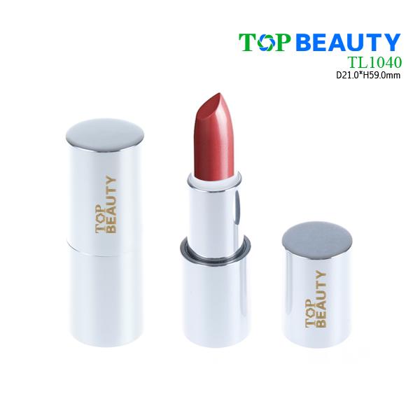 Cylinder round aluminum MAGNET lipstick case(TL1040)