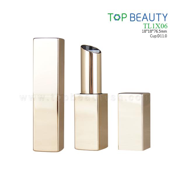 Square Magnet Aluminum Lipstick Tube (TL1X06)