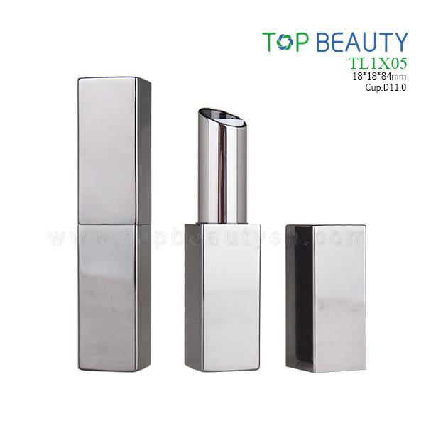Square MAGNET Aluminum lipstick tube (TL1X05)