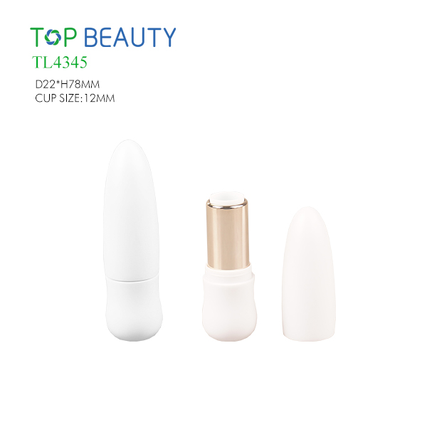 New Cylinder Bullet Shape Plastic Lipstick Tube(TL4345)