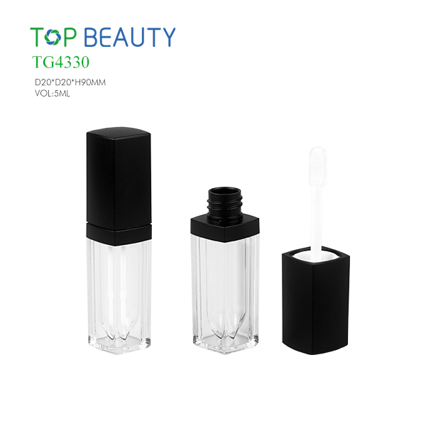 New Square Clear Lip Gloss Container (TG4330)