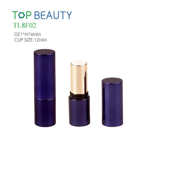 Classic Round Plastic Lipstick Tube(TL8F02)