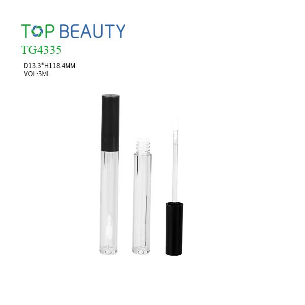 New Slim Round Clear Lip Gloss Case (TG4335)