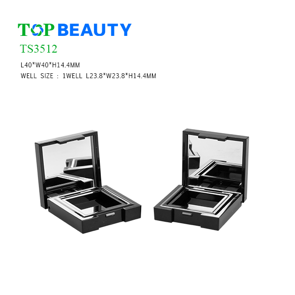 New Square Single Well Eye shadow Case(TS3512)