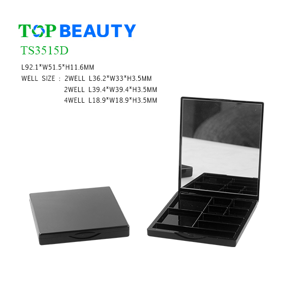 New Rectangle 8 Well Eyeshadow Container (TS3515D)
