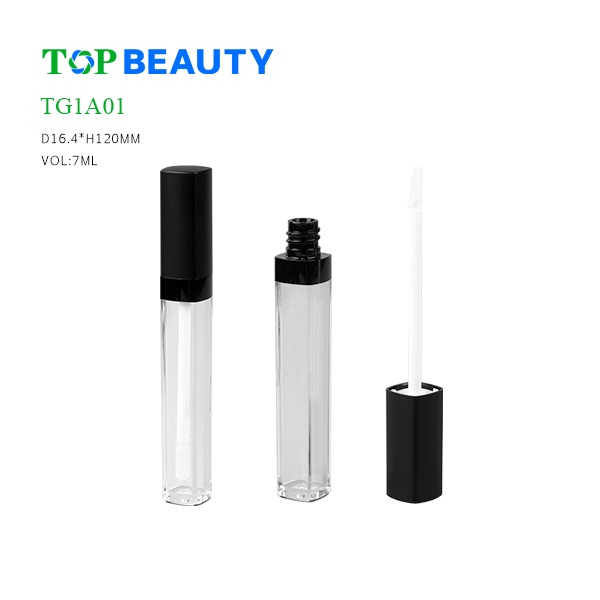 New Classic Tall Square Plastic  Lip Gloss Tube (TG1A01)