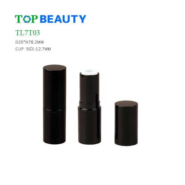New Classic Round Plastic Lip Stick Tube (TL7T03)