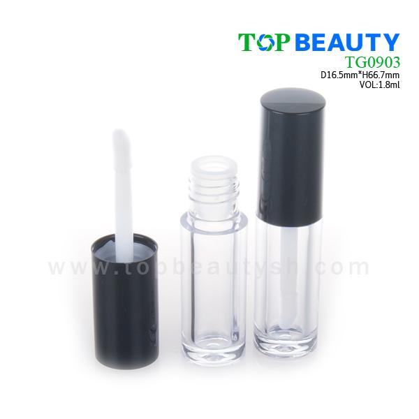 Classic Round Plastic Short Lip Gloss Tube (TG0903)