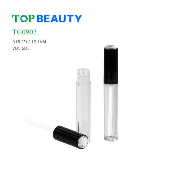 New Luxury Slim Round Lip Gloss Tube (TG0907)