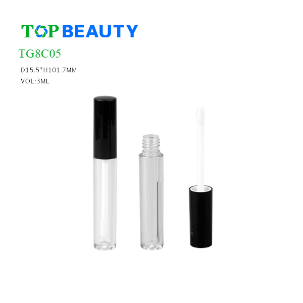 New Classic Round Clear Lip Gloss Case (TG8C05)