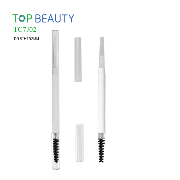 Slim Dou-end Combined Eyebrow Pen Container (TC7J02)