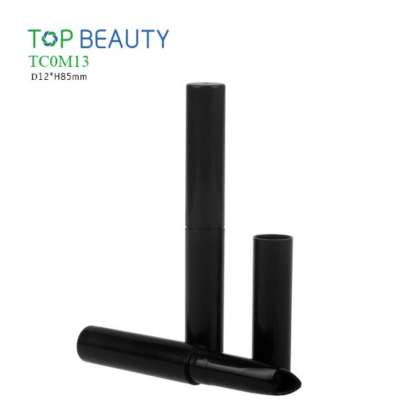 New Short Round Plastic Lipstick Pen Container (TC0M13)