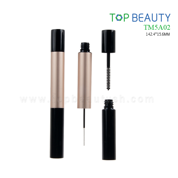 New Duo-end Round Aluminum Mascara Tube (TM5A02)