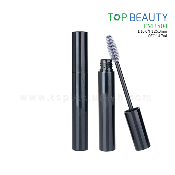 New Round Plastic Single-end Mascara Container (TM3504)