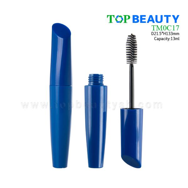 New Round Single-end Plastic Mascara Case (TM0C17)