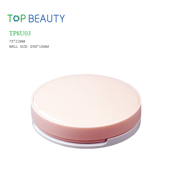 New Round Plastic Compact (TP8U03)