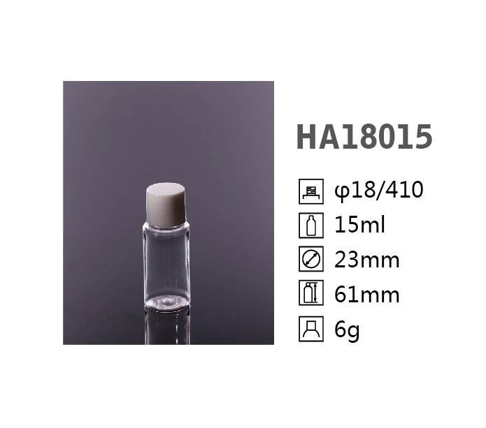 HA Round PET bottle HA18015