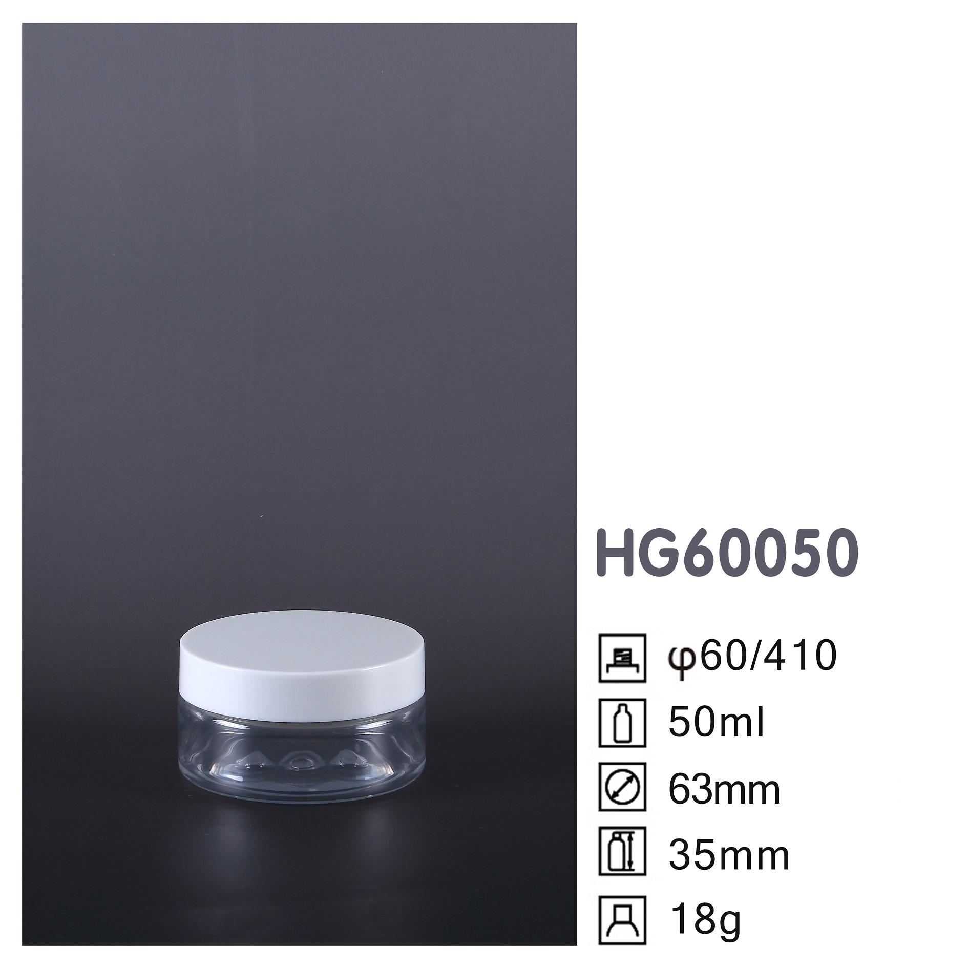 HG Round PET Jar HG60050