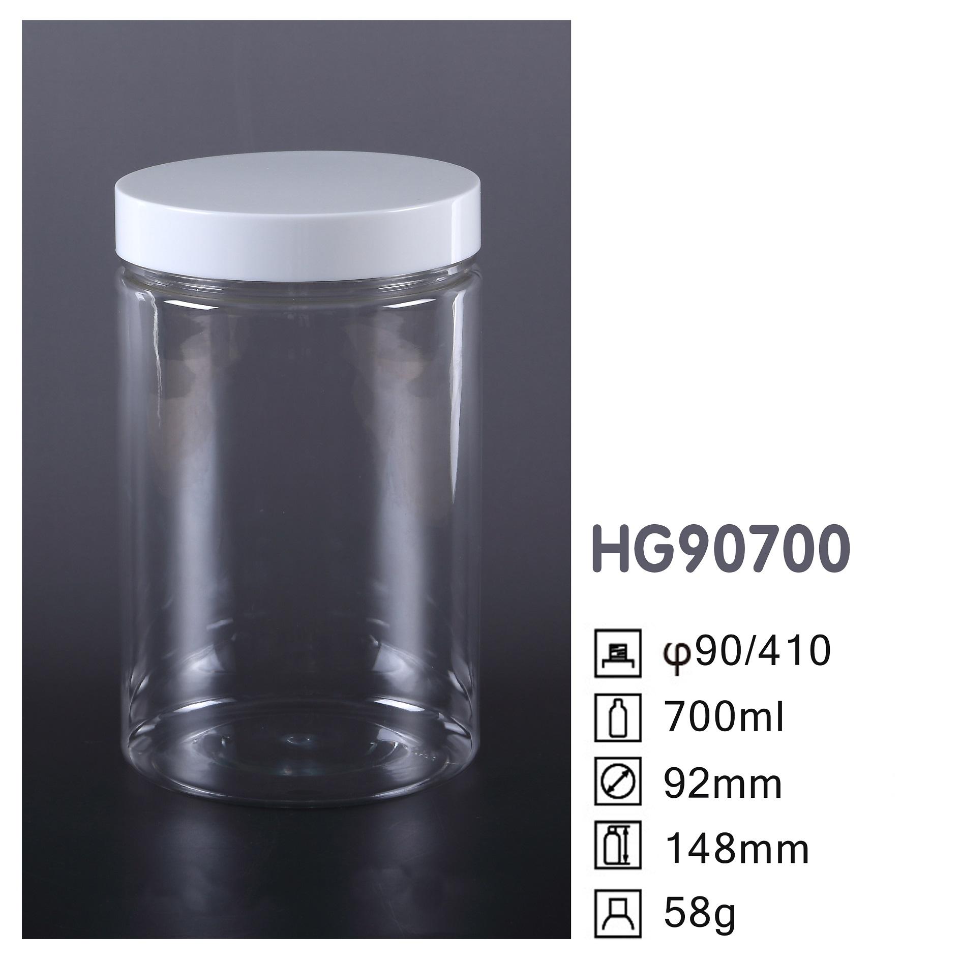 HG Round PET Jar HG90700