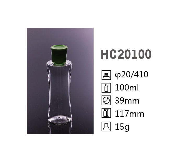 HC irregular shape PET bottle HC20100